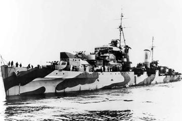 ダイドー級軽巡洋艦 Dido class Light Cruiser